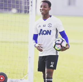 Tosin Kehinde Edging Closer To Manchester United Debut, Trains With First Team