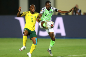 'Musa Troubled South Africa Defence With His Pace' - Okocha Questions Rohr's Decision To Substitute Winger