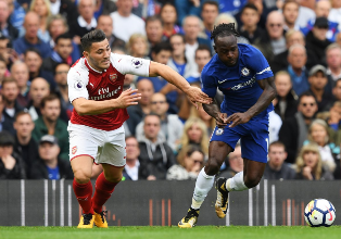 Encouraging Performance By Moses & Iwobi As Chelsea, Arsenal Share Spoils