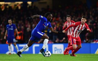 Victor Moses Set To Join Mikel, Kanu In Premier League 200 Club Vs Huddersfield Town