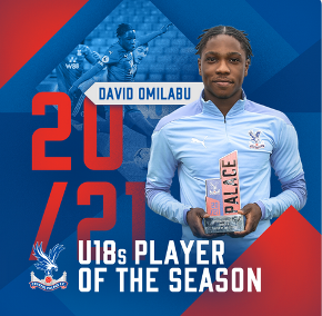 Crystal Palace End of Season awards : Two attack-minded Nigeria-eligible players win