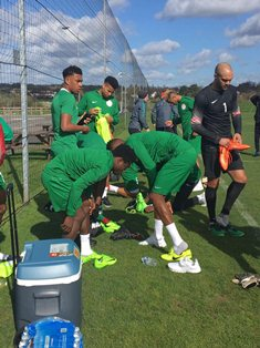 Rohr Begins Observing Kayode, Echiejile On Wednesday, Players Arrive London Camp