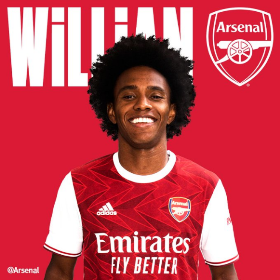 'If You Can't Beat Them, Join Them' - Arsenal's Nigerian Fans React To Signing Of Willian From Chelsea