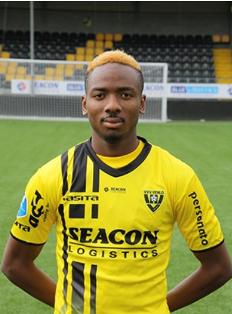 Kelechi Nwakali Starts For VVV Venlo In 5-1 Loss To Monchengladbach