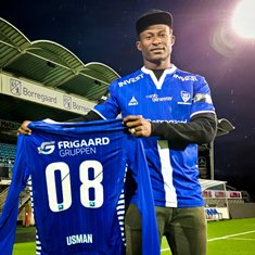 (Photo) Sarpsborg Pull Off Transfer Coup With Signing Of Barca Linked Nigeria Midfielder