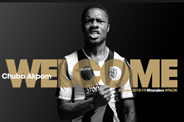 Official: PAOK Complete Signing Of Nigerian Striker Chuba Akpom From Arsenal