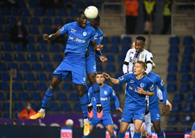 Onuachu's fine form continues with 25th goal of the season for Racing Genk
