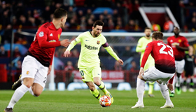 UCL: Yobo Delighted With Barcelona's Professional Display In Win Against Manchester United
