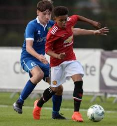 England Ahead Of Nigeria In Race For Manchester United Protegee, Handed Call-Up