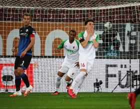 Bundesliga Wrap MD 28 : Awoniyi Starts; Ehizibue Subbed Out; Collins, Uduokhai Shine; Torunarigha Booked; Lookman Features