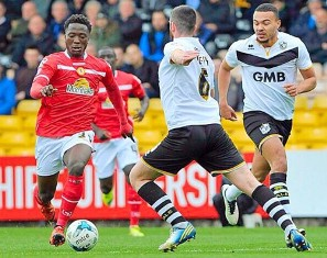 Official : Crewe Alexandra Loan Out Udoh, Who Is Eligible To Play For Nigeria, England & Togo