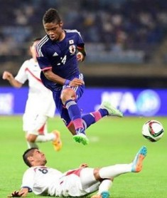 Young Japanese-Nigerian Striker Nets First Career Hat-Trick For J2 League Club