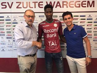Peter Olayinka Scores On Zulte-Waregem Debut, Young Winger Bala Also On Target
