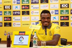 Why Emenike Has Yet To Make Las Palmas Debut, Striker Omitted From Squad Again