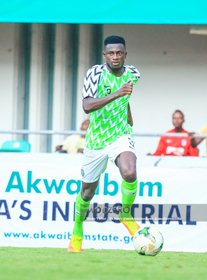 Nigeria Handed Fitness Boost Ahead Of AFCONQ As German-Based LB Resumes Full Training