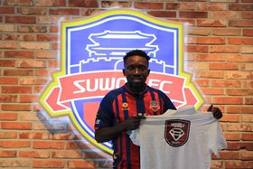 Photo Confirmation : Ex-Falkenberg Star Egbuchulam Completes Move To Suwon FC Worth N432M