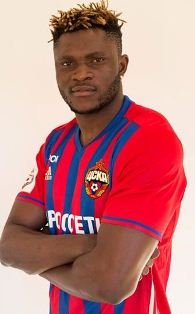 CSKA Striker Aaron Samuel Declares Himself Fit To Face Zenit