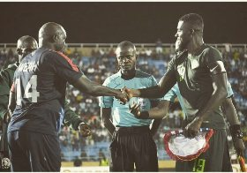 Rohr Reveals What Ex-Chelsea Star Weah Told Him Before Liberia-Nigeria Friendly