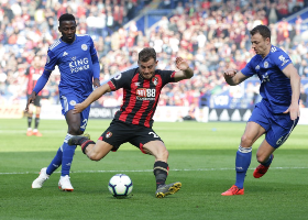 EPL Wrap : Ndidi Superb; Iheanacho Cameo; Billing Relegated; Success Assists; Balogun Not In 18; Solanke Subbed In