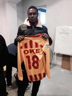 Official : Oke Akpoveta Returns To Denmark, Signs Contract With Bronshoj