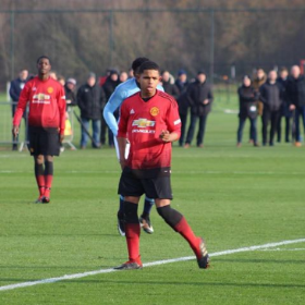 15-Year-Old Anglo-Nigerian Striker Finishes As Man Utd's Top Scorer At International Sparkasse & VGH Cup