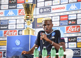 'I Like To Get Involved With The Play' - Napoli No. 9 Osimhen On The Type Of Striker He Is