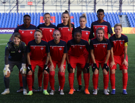 UWCL : Minsk's Nigerian International Striker Scores Against Barcelona