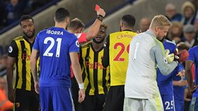 Former EPL Referee Disagrees With Watford, Iheanacho, Success : Capoue Deserved Red Card