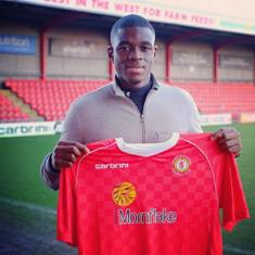 Uche Ikpeazu Hoping To Score Goals To Keep Crewe Alexandra Up