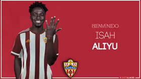 Done Deal : Left-Footed Attacking Midfielder Aliyu Inks Multi-Year Almeria Contract