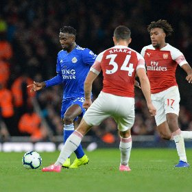 'If We'd Have Got The Penalty & Ball Hadn't Hit Crossbar' - Ndidi's Excuses For Losing To Arsenal Valid