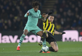 'The Best Attacking Player On The Pitch',  Iwobi Impresses The Press As Arsenal Beat Watford