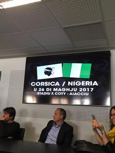 Stade Francois Coty In Ajaccio To Host Corsica-Nigeria Friendly, Game Starts 2000 Hours