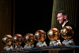 Ballon d'Or Voting : Nigeria Voted For Messi To Win; Ronaldo Third
