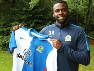 Blackburn Rovers Midfielder Akpan Sent Off For Pushing Referee