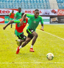 Dream Team VII Star Nwakali : We Are Ready Now For Libya; 45 Minutes Training Before 2-0 Loss Affected Us