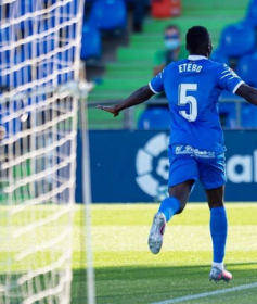 Getafe's Etebo Becomes 21st Nigerian-Born Player To Score In Spanish La Liga (Full List)