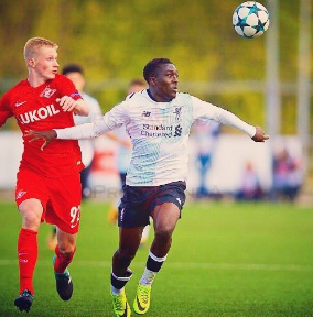 What Liverpool Legend Told Adekanye Before His Brace In UYL