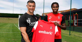 Official : Released Manchester United Nigerian Starlet Joins Rotherham United