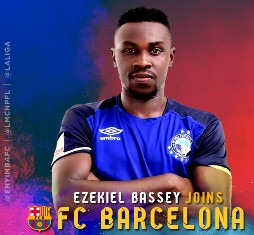 Official : Enyimba Confirm Ezekiel Bassey Signed Two-And-A-Half-Year Deal With Barcelona