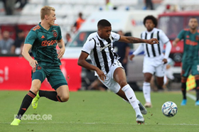 Ex-Arsenal Striker Akpom Nets Maiden Champions League Goal For PAOK, Esiti Debuts