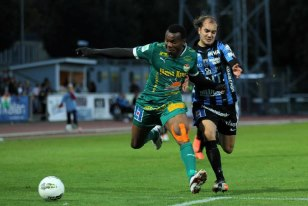 Omoh Michael Happy With Performance Against Eskilstuna City