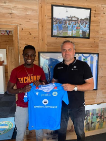 Photo Confirmation : Flying Eagles Winger Joins Norwegian Club Sandnes Ulf