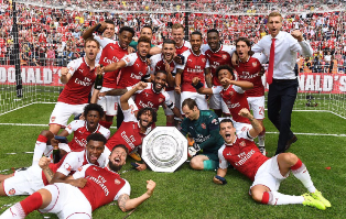 How Arsenal Gem Iwobi Reacted To Community Shield Win Over Chelsea