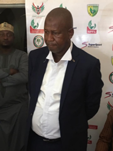 Maikaba Eyeing Rohr's job, Vows To Win NPFL Title, Reveals Why He Quit Akwa United