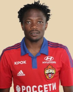 Aaron Samuel, Ahmed Musa On Song In CSKA Moscow Win