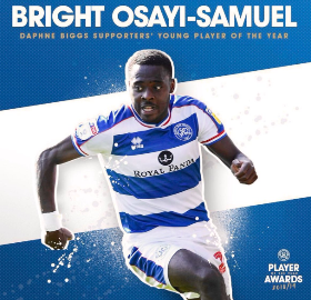 Nigerian-Born Winger Named Queens Park Rangers Young Player Of The Year
