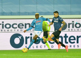 Italian pundit says Napoli's Osimhen reminds him of legendary Milan striker George Weah