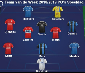 Dream Team VII Dazzler Named In Belgian First Division A Team Of The Week