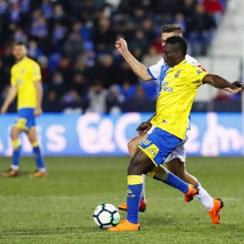 Las Palmas Ace Etebo Plays Down Injury Fears, To Have A Check-Up Monday